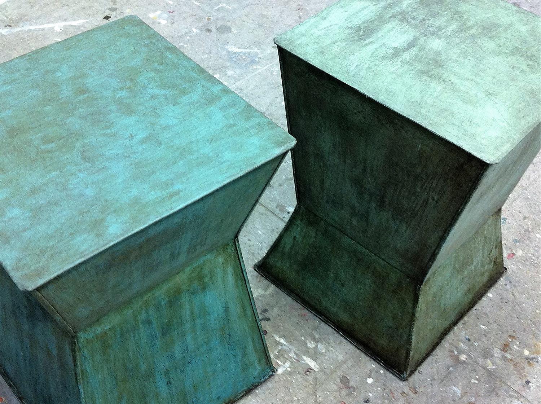 Acabado de hierro oxidado