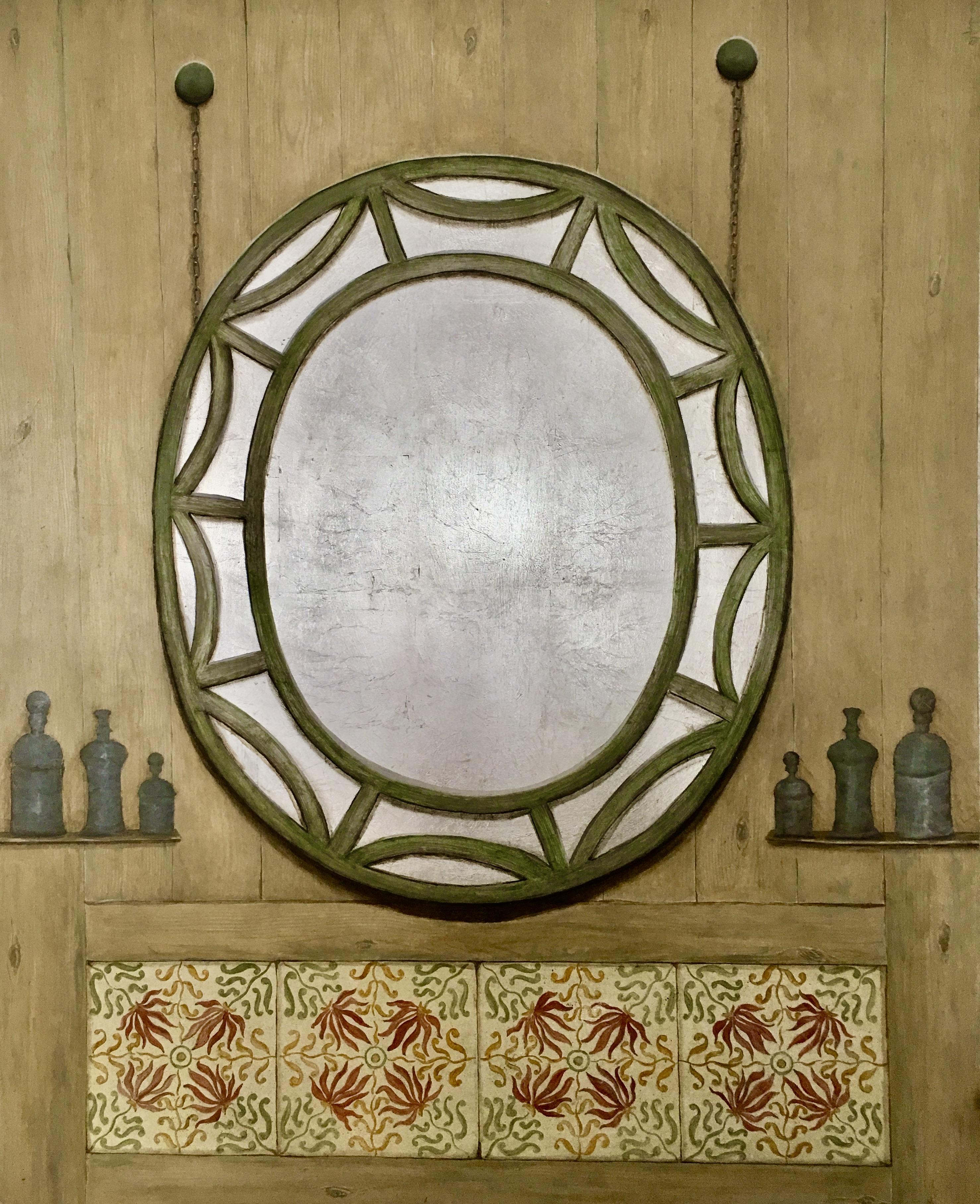 Falsos azulejos inspiración William Morris