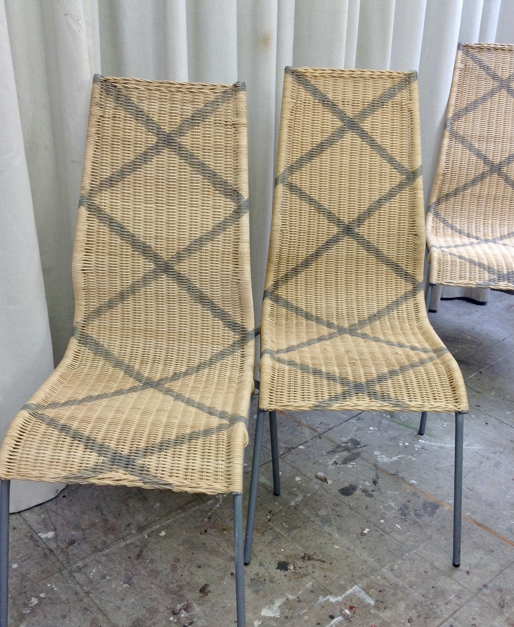 Celosía en sillas de Ikea