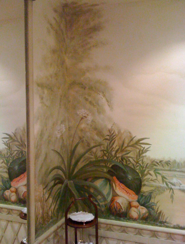 Detalle bodegón del paisaje