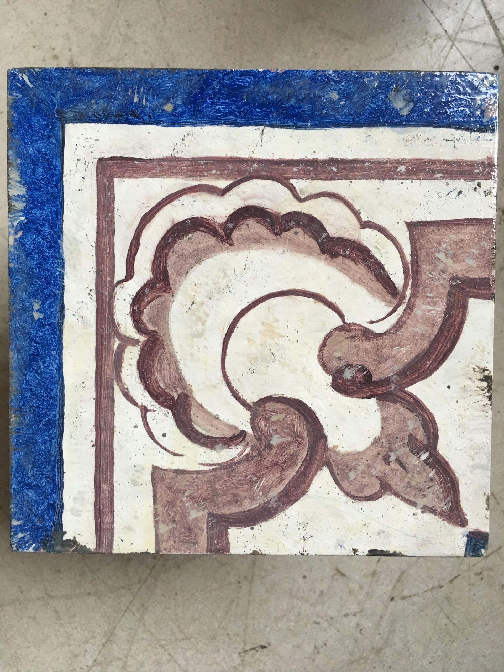 Falso azulejo portugués
