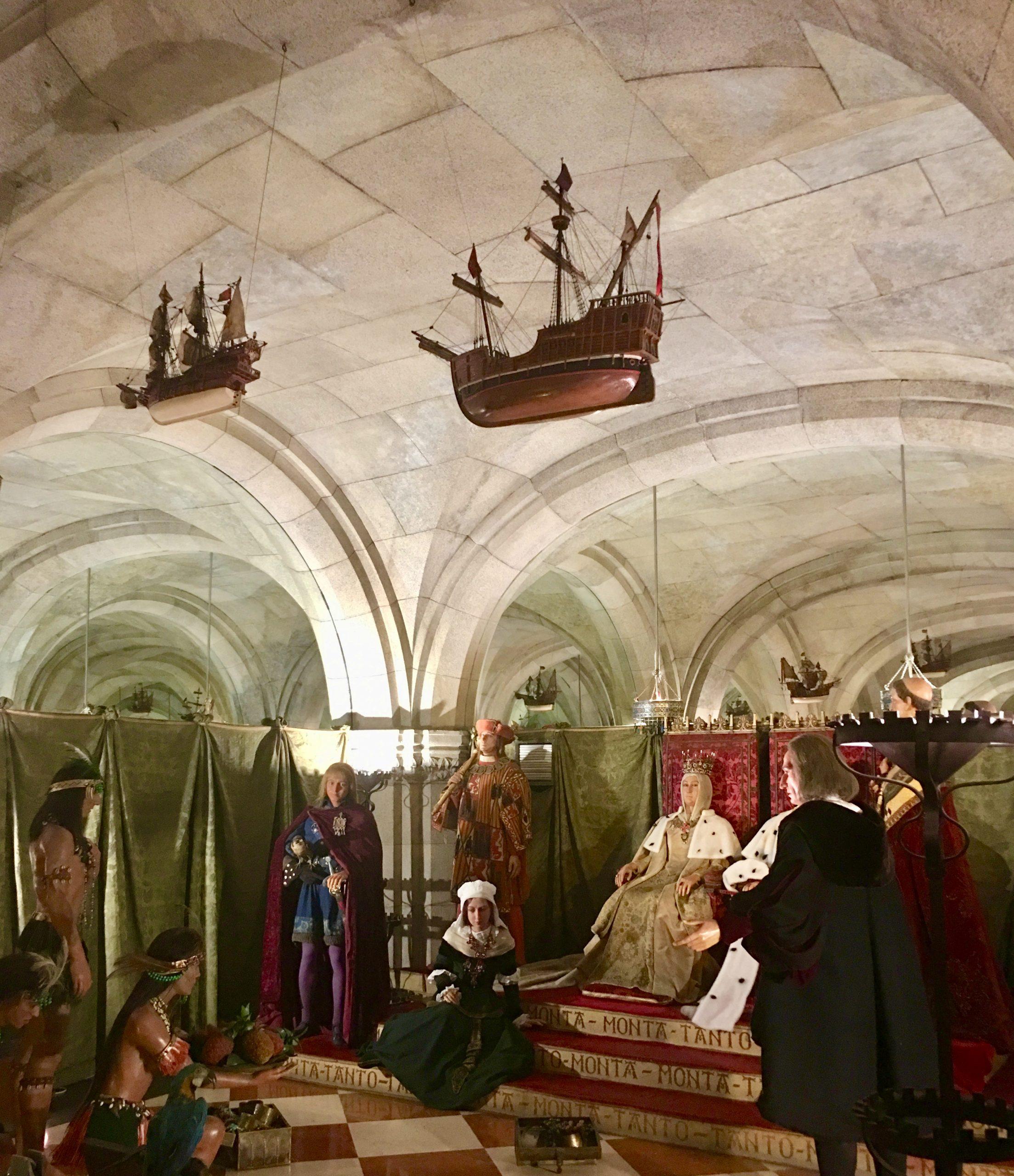 Museo de Cera sala del descubrimiento