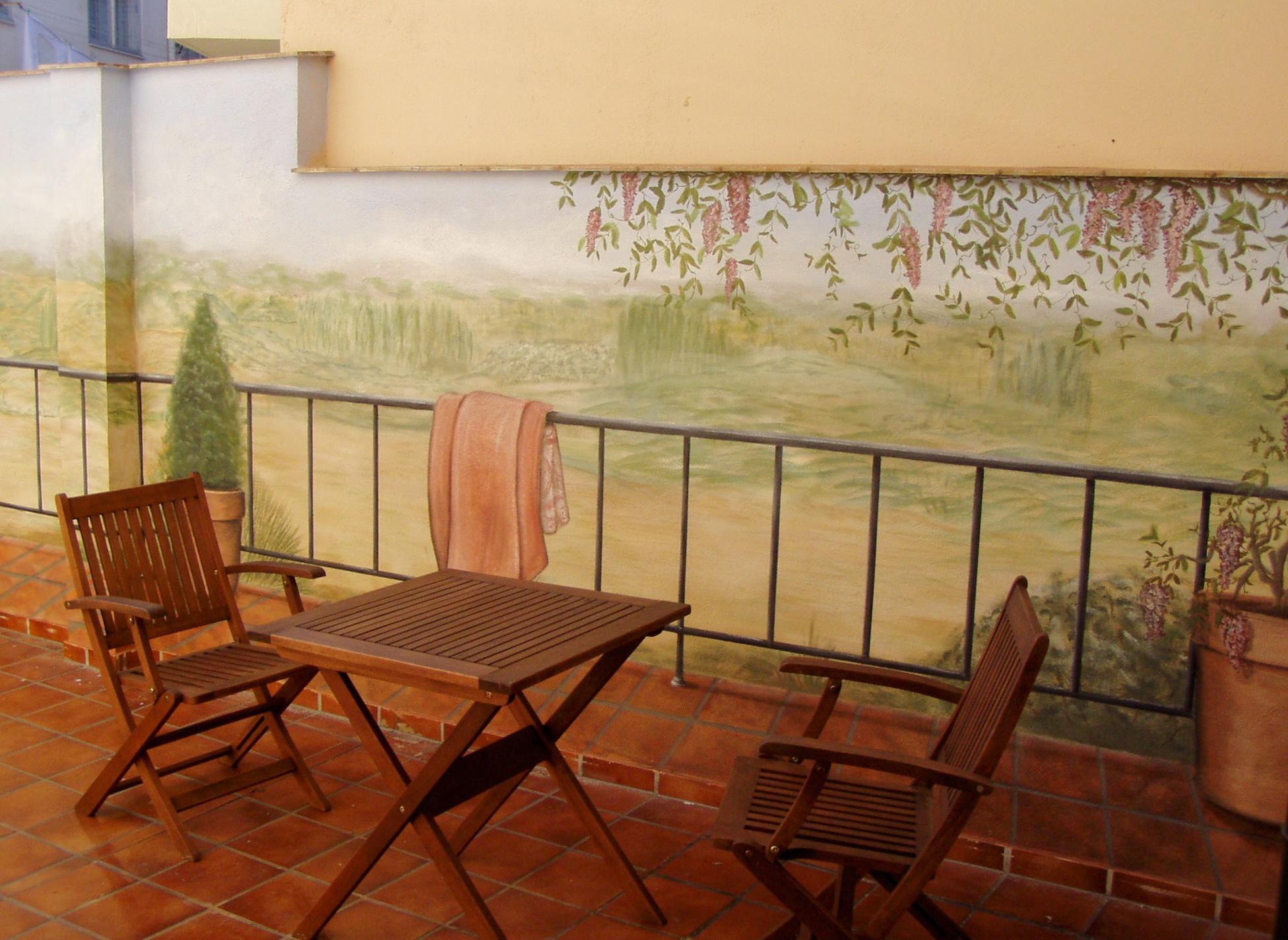 Terraza Hotel Casa de Tepa
